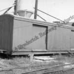 H&F/H&LF #212 after being converted into a sand shed by the H&F.