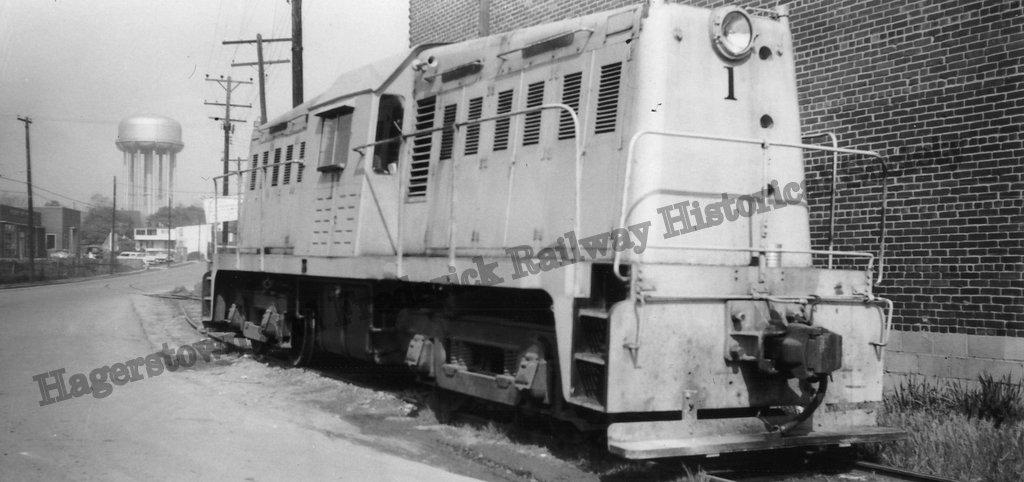 Potomac Edison Whitcomb Diesel #1