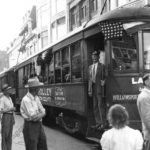172 during Last Trolley to Williamsport ceremony.
