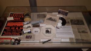 Memorabilia Exhibit